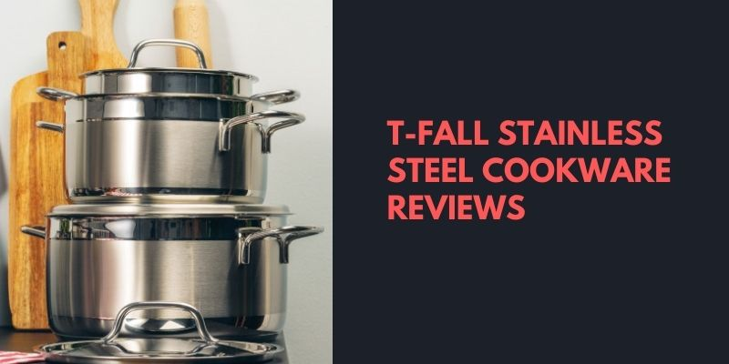 T-fall stainless Steel Cookware