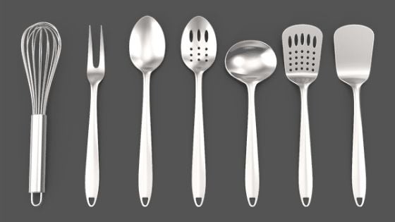 metallic Cooking Utensils