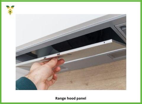 Range Hood Panel