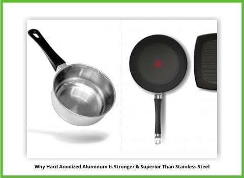 anodized vs stainless steel pans