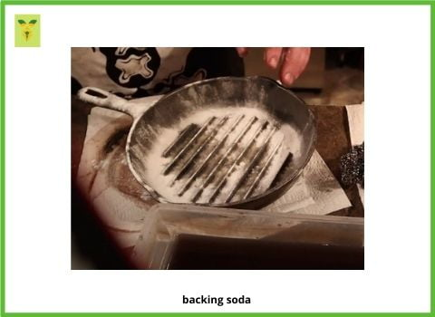Backing Soda on cast iron