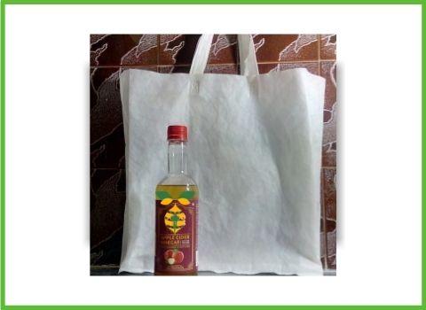 Biodigestable Bag & apple cider vinegar