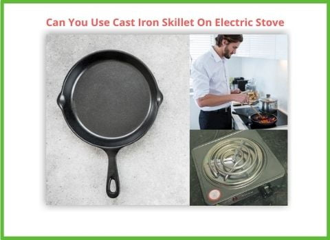 skillet On electric stove top