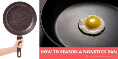 Seasoning Non Stick Pan